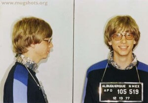 See? Bill Gates had bad luck too.