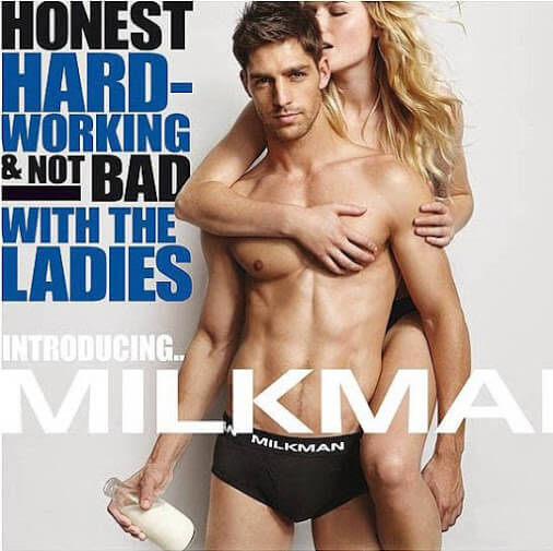 Milk man magazine cover