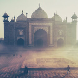 A Dust Over India