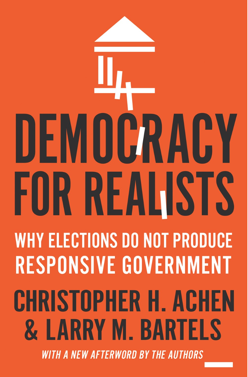 Democracy for Realists - Achen and Bartels