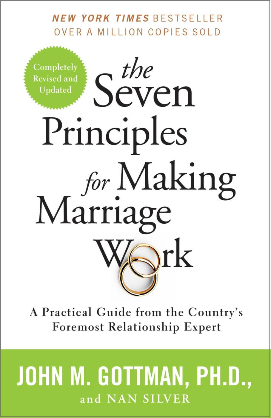 Books on relationships - 7 principles that make marriage work