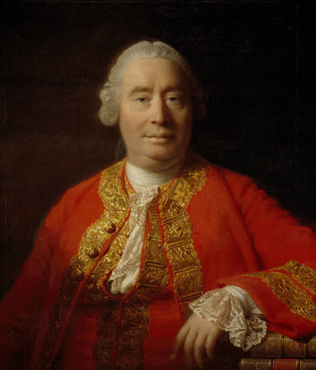 David Hume - oil canvas portrait