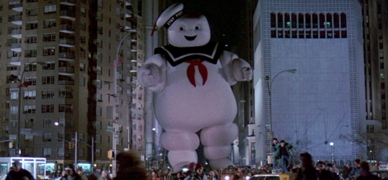 Ghostbusters StayPuft Marshmallow man walking